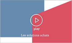 Vidéo, les solutions achats